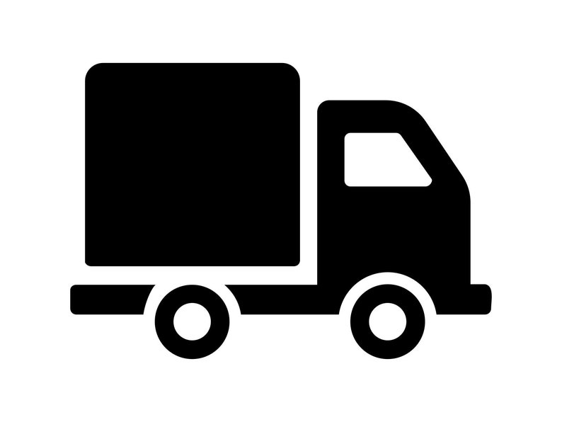 Truck svg Delivery Truck Cutting File Work Truck Clipart ...Ups Delivery Truck Clipart