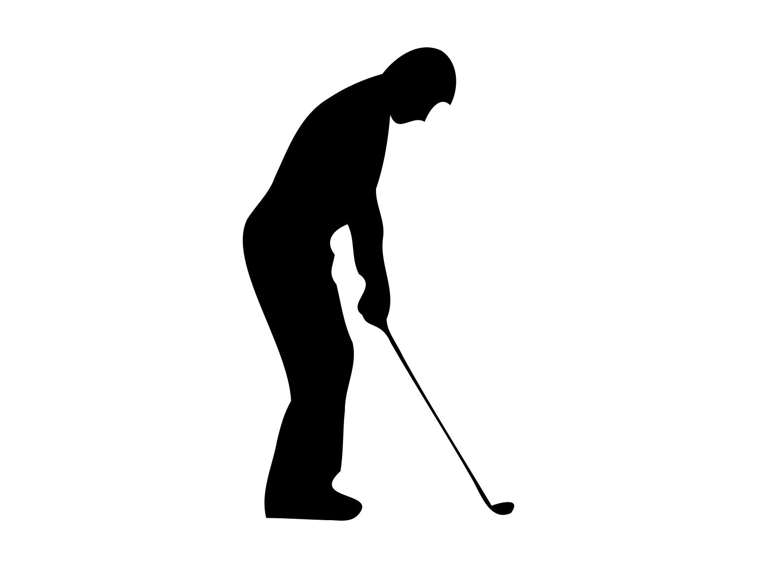Golf Svg Dateien Golf Svg Golf Golf Clipart Vektor Golfer Svg Etsy