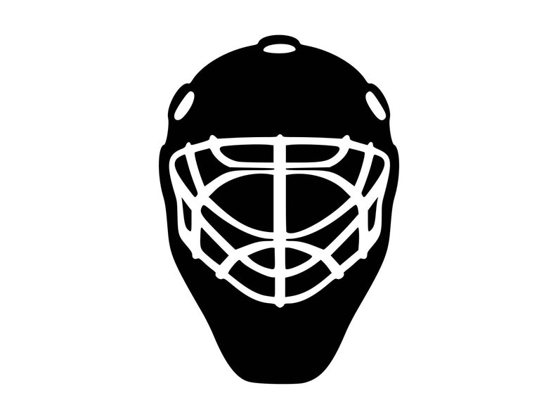 Catchers Helmet Svg Baseball Helmet Svg Baseball Mask Vector Etsy