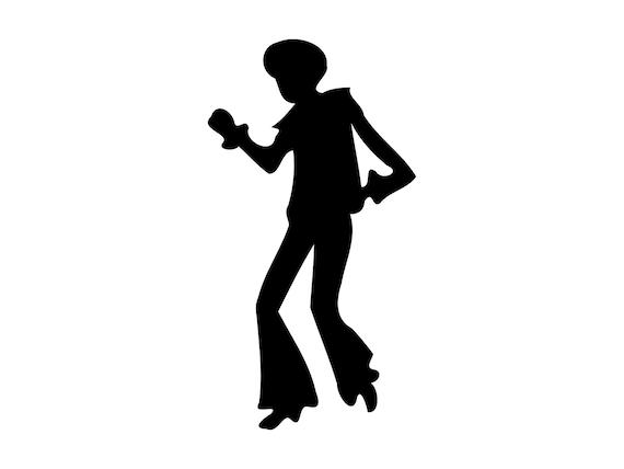 Disco Svg Disco Dancing Svg Disco Cutting File Dance Clipart Scrapbooking Clip Art SVG DXF Png