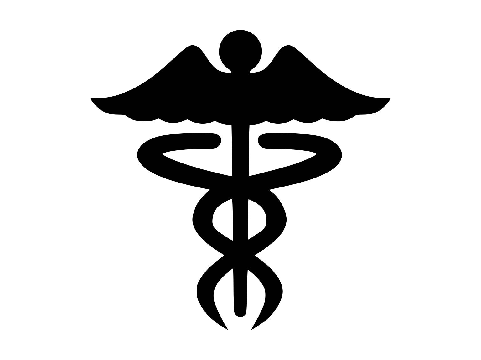 Caduceus Svg Medical Symbol Doctor Rn Medical Svg Caduceus Etsy