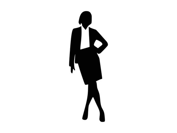 Woman Svg Business Woman Clip Art Svg Files Clipart Woman
