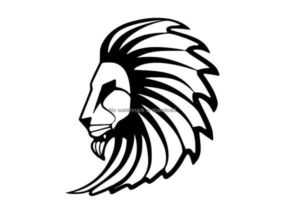 Lion Svg Lion Png File Lion Vinyl Cut File Lion Files For Etsy