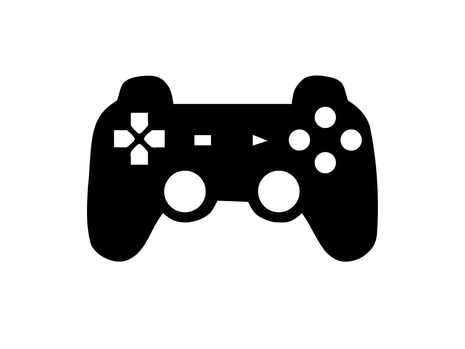 Game Controller Svg Gamer Svg Controller Svg SilhouetteXbox Controller Silhouette