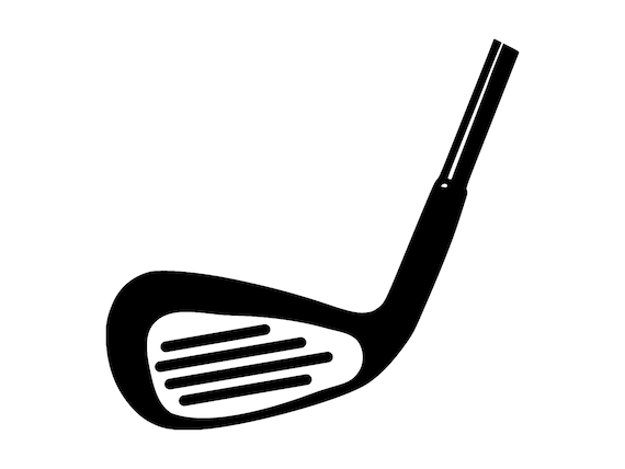 Golf Club Svg Silhouette Cutting File Clipart Scrapbooking Etsy