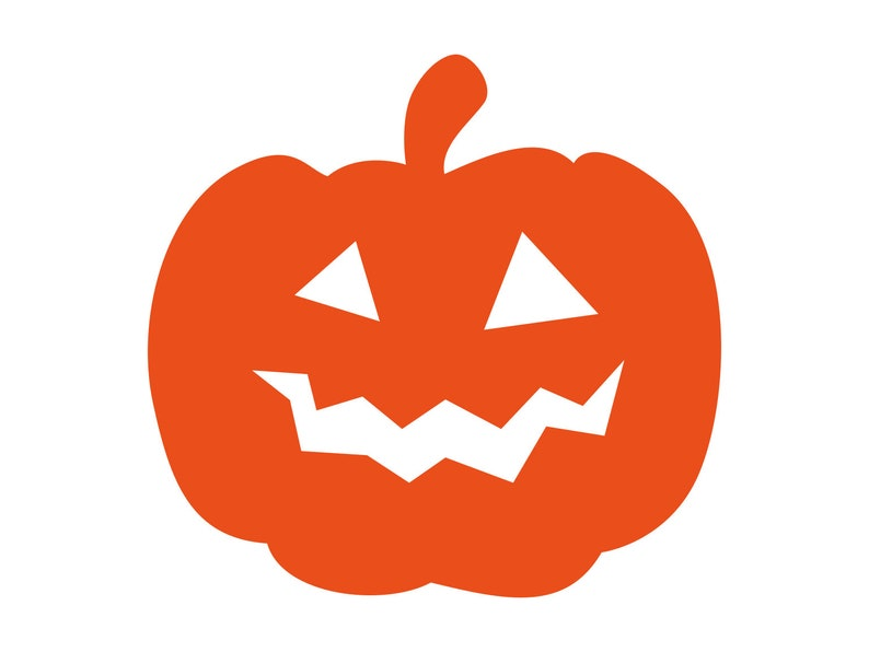 svg Pumpkin 2 Halloween Jackolantern svg, Jack o lantern svg png dxf  Pumpkin silhouette cut file clip art vector cutting file