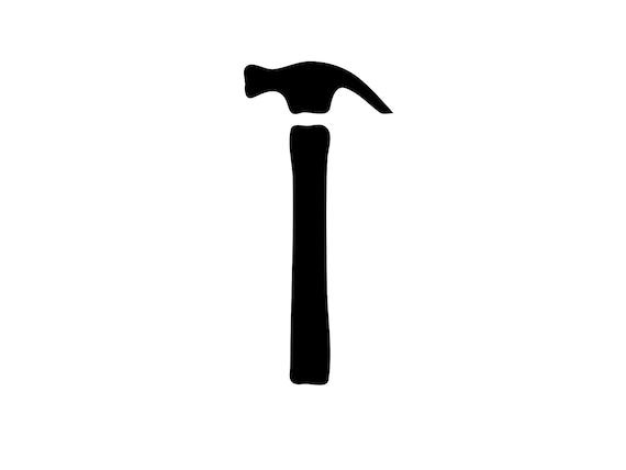 Hammer Svg Tools Svg Files Hammer Svg Cut File Silhouette ...
