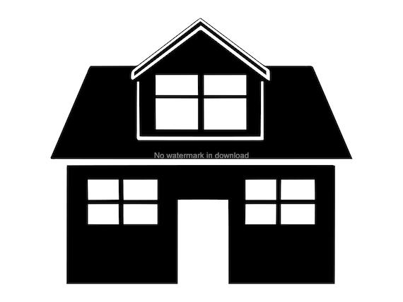 House Cricut Svg House Svg Vector House Engrave Svg Etsy