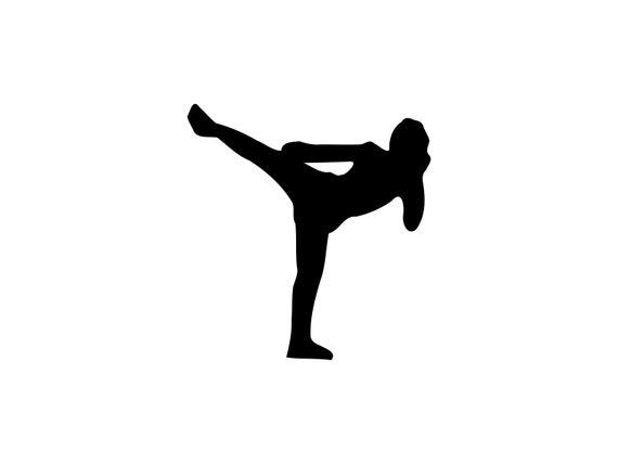 Arts martiaux Svg Karaté Svg Martial Arts Clipart Karaté Cut File Martial arts Dxf Sparring Svg Martial Arts Silhouette Karaté Dxf Clip Art