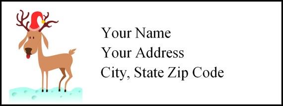 Address Label Template   Return Address Label Mailing Label Template Editable Etsy