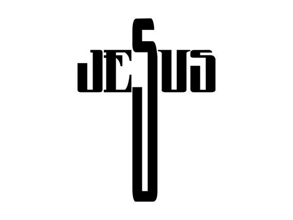 Cross Svg Jesus Cross Svg Jesus Cross Cutting File Vector Etsy
