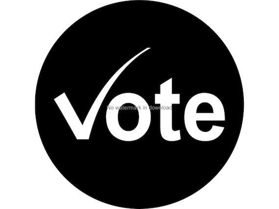 I Voted Svg Clipart I Voted PngFiles I Voted Laser Svg I Voted Dxf Cutting Image I Voted Files For Silhouette I Voted Svg Design