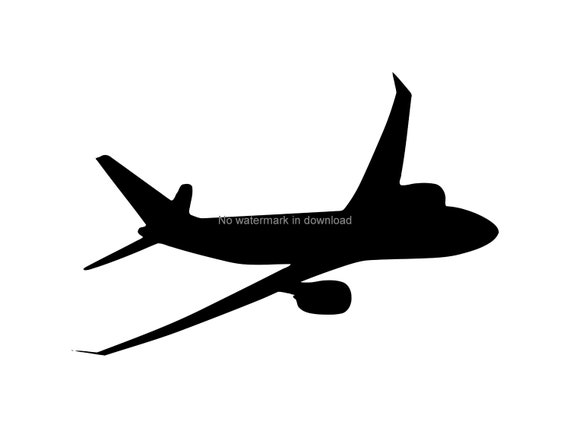 Plane Clipart Airplane Clipart Planes Clip Art Airplane Svg Etsy