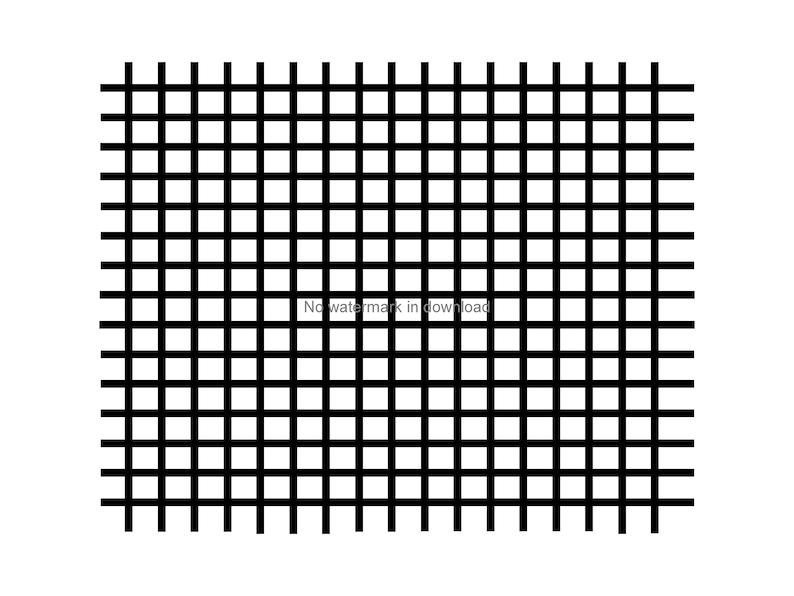 Grid Pattern Svg Cutting File, Grid Pattern Digital Download, Grid Laser  Svg, Grid Silhouette cutting Svg,Vinyl Image File Svg Dxf Png