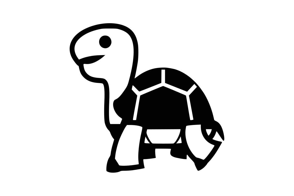 Tortue svg tortues clipart svg fichiers turtle vecteur tortue etsy - Clipart tortue ...