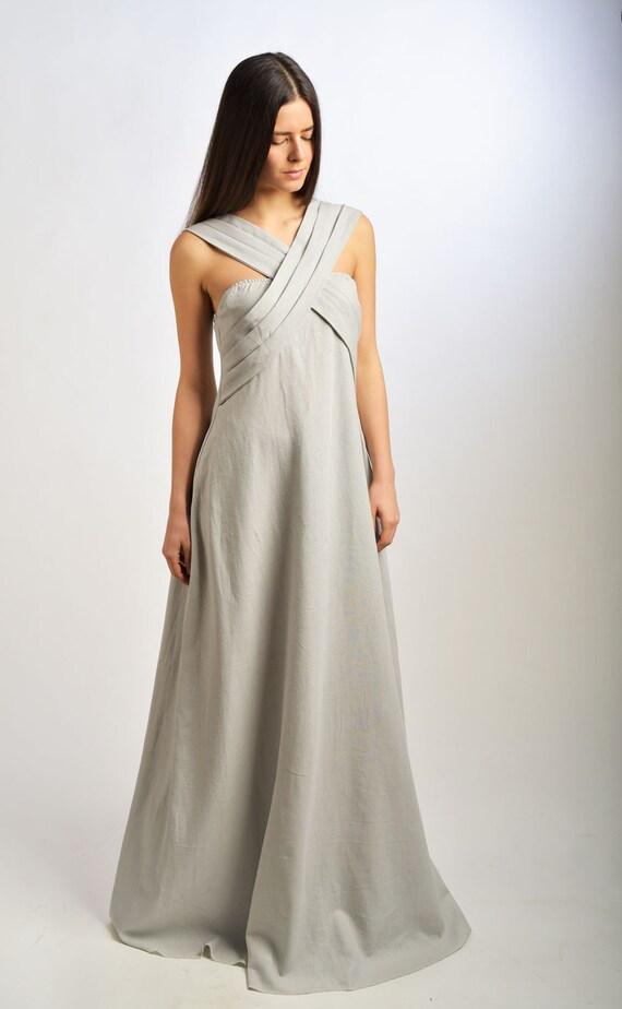 aeef2c78caf Long linen dress Linen dress linen kaftan linen robe linen