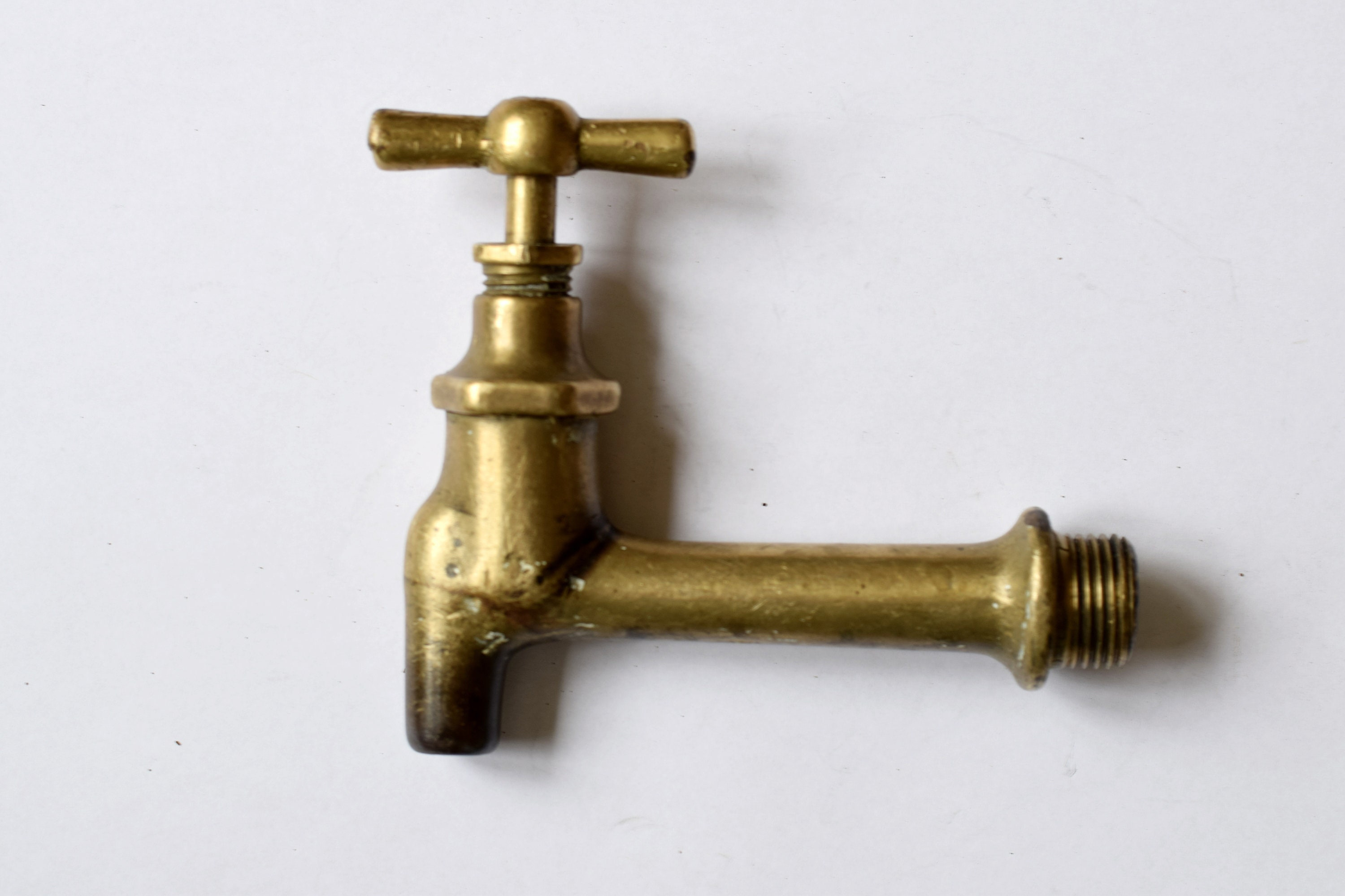 Vintage Soviet brass faucet Soviet faucet Made in USSR Home decor Water tap Soviet metal faucet