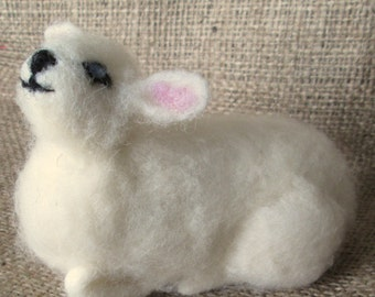 Needle Felting Kit, Lamb
