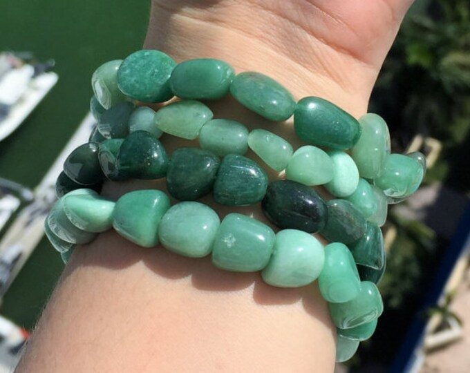 Green Aventurine Bracelet / Healing Stone Bracelets