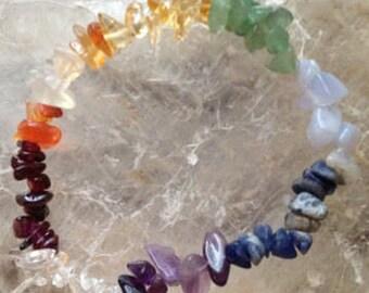 Chakra Bracelet / Chakra Crystal Jewelry / Reiki Jewelry
