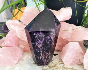 Large Super Seven Crystal / Super Seven Stone from Brazil in Minas Gerais / Super 7 / Sacred Seven