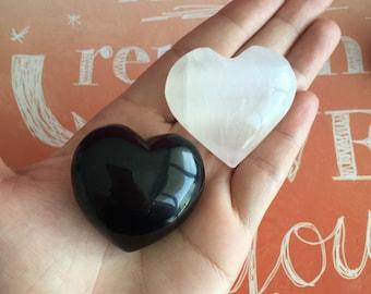 Crystal Protection Hearts Set