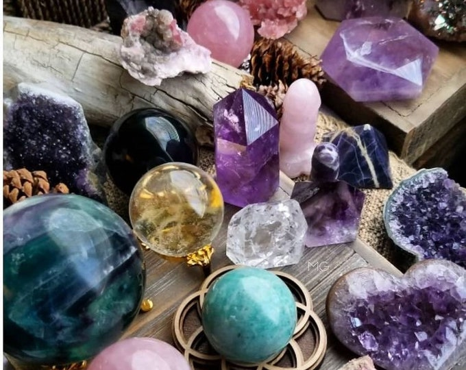 Mystery Gift Box 3 Healing with Crystals and Stones,