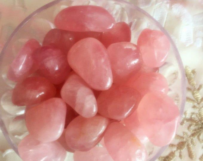 10 Rose Quartz Polished Crystals for Wholesale