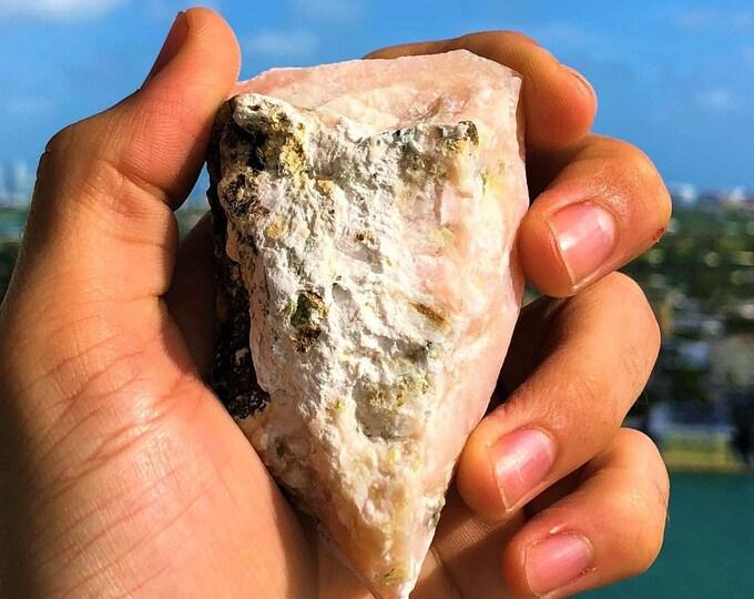 Pink Opal Stone w/ Reiki