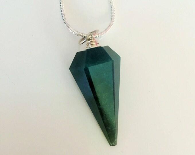Green Aventurine Pendulum Necklace