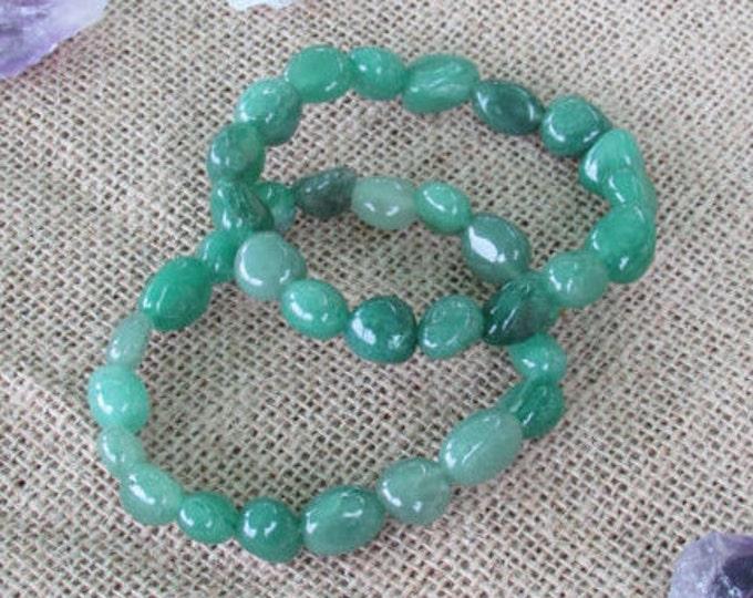 Aventurine Bracelet infused w/ Reiki / Healing Jewelry, Mothers Day Gift Ideas