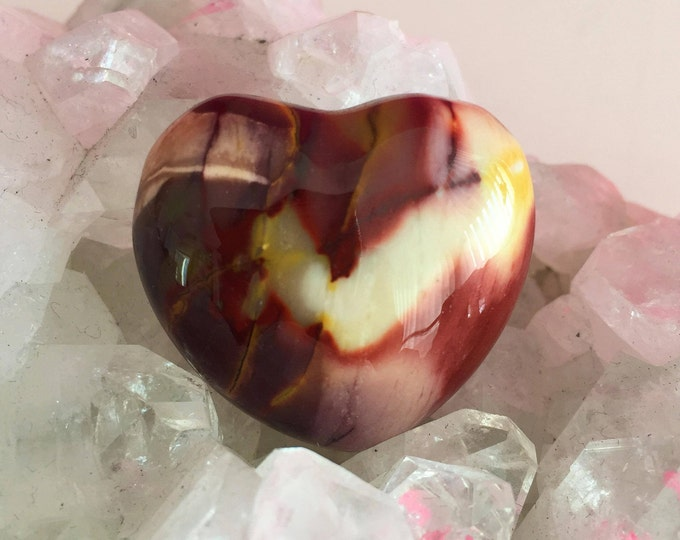 Jasper Heart / Healing Crystals and Stones