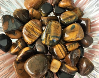 Tigers Eye, Healing Crystals and Gemstones