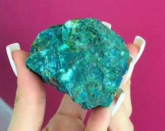 Raw Chrysocolla Healing Crystals