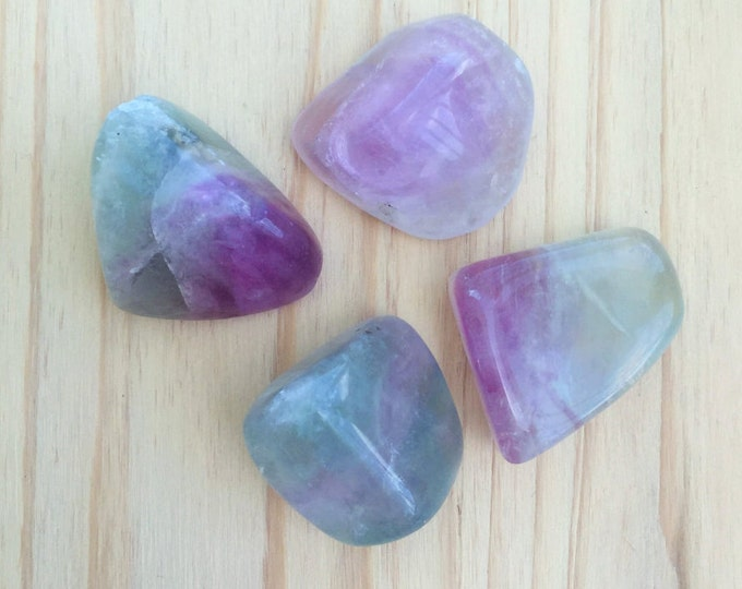Rainbow Fluorite Healing Crystals Perfect for Chakras, Crystal Grids, Meditation /  Healing Crystals