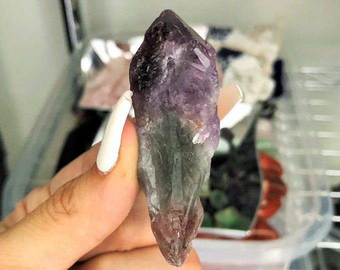 Super 7 Crystal / Melodys Stone infused w/ Reiki Perfect for Making Jewelry