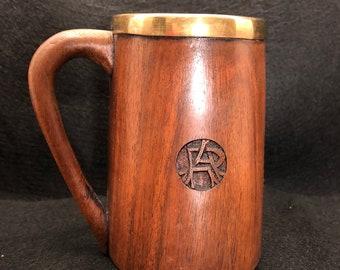 Wooden Mug Etsy