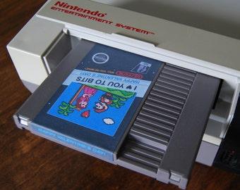 Super Mario Valentine's Day Card-tridge