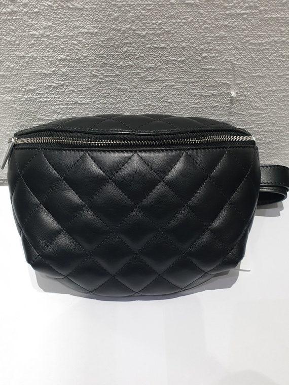Chanel black belt bag