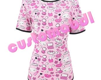 1186273d4b0b0 Adult Onesie - Glam Baby - ABDL Bodysuit - CustomABDL - DDLG - Adult Baby  Diaper Lover- Mommy Domme - Daddy Dom - Sissy - Age Play - BDSM