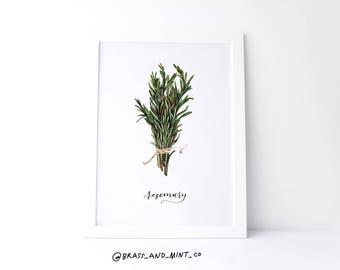 5x7 Rosemary