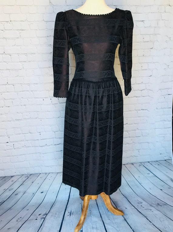 Vintage LANZ ORIGNALS 1980s Dress