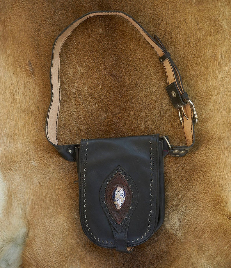 Leather Belt Belt With Pockets Leather Belt Bag *The Hannah* Pocket Belt Leather Utility Belt Hip Bag fanny pack Utility Belt