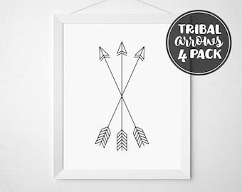 Arrows Nursery, Arrow Picture, Minimalist Arrows, Tribal Decor, Arrow Printable, Arrow Art, Tribal Arrow, Arrow, Arrow Wall Art, Arrow Print