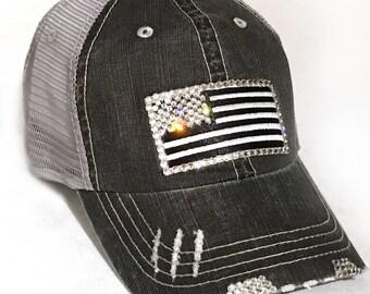 Womens American Flag Hat - Ready to Ship 88f8f8cb31