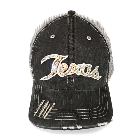 57809a556a8 Texas Trucker Hat Texas State Hat University of Texas Cap