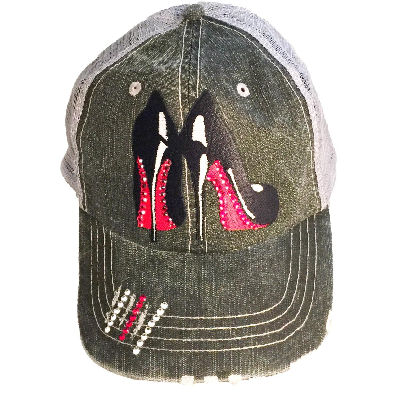 3aa4e32593515 Swarovski Crystal Hat Crystal Baseball Hat Crystal Trucker
