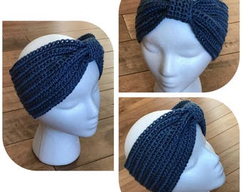 headband ear warmer in crochet