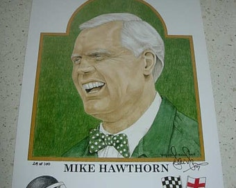 limited edition print of mike hawthorn f1 world champion 1958