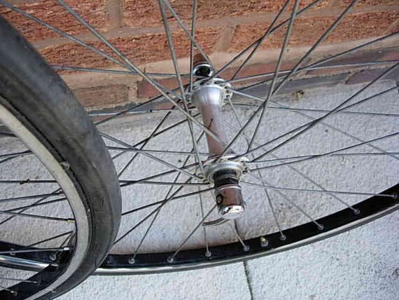 alesa alloy rims with 6 speed freewheel